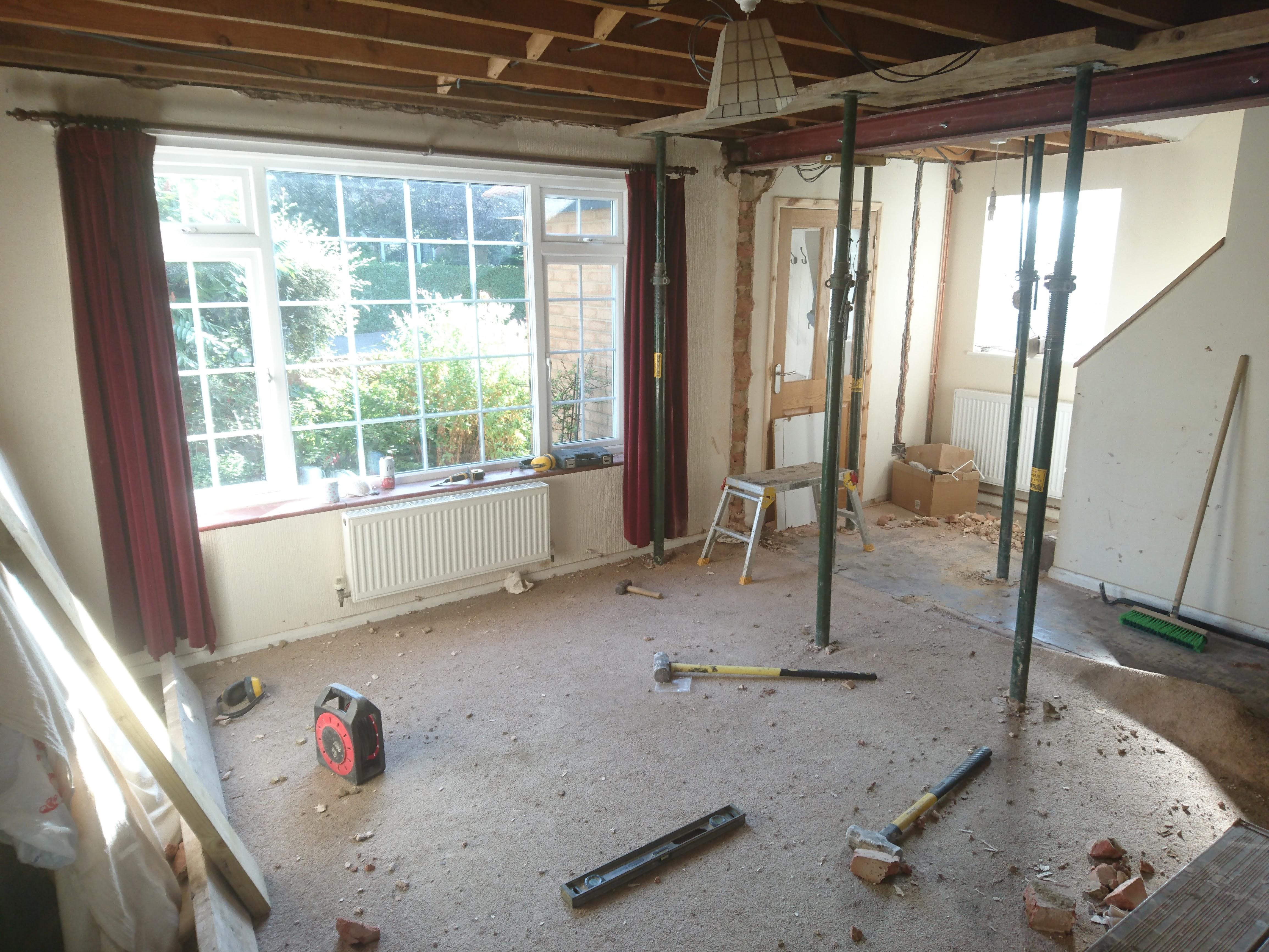 Extensions, construction