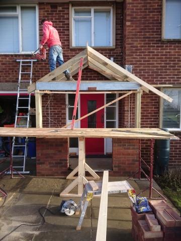 Building work - Bedford
