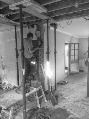 Extensions, building work in Bedford